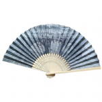 Paper fan double-sided