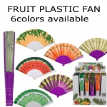 Fruit design plastic fan
